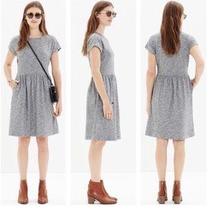 Madewell Heathered Grey Jersey Dress